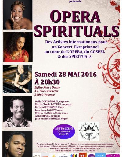 Concert Negro Spiritual - Eglise Notre-Dame de Valence - Mai 2016 5