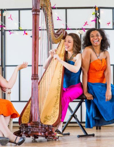Harpévoix - avec Elen Hervochon et Dania El Zein - © Frédéric Bayle 2