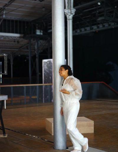 Plaine d'Artistes - Maxime Rossi - Grande Halle de la Villette - Juillet-Août 2020 - Centre Pompidou 2020 - © Hervé Véronèse 2