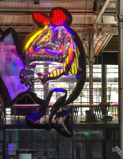 Plaine d'Artistes - Maxime Rossi - Grande Halle de la Villette - Juillet-Août 2020 - Centre Pompidou 2020 - © Hervé Véronèse 6