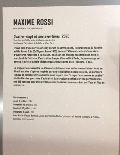 Plaine d'Artistes - Maxime Rossi - Grande Halle de la Villette - Juillet-Août 2020 - Centre Pompidou 2020 - © Hervé Véronèse 7